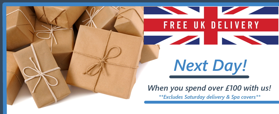 Free next day UK shipping over £100