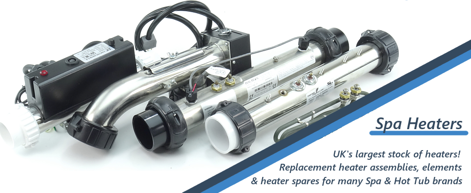 UK's largest stock of hot tub heaters