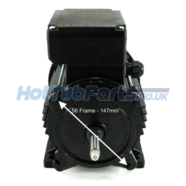 2hp 2 Speed 56 Frame Emg Motor Aqua Flo Waterway Spa