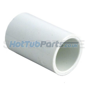 "1""_Straight_Coupler_Pipe_Fitting"