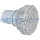 2 Inch Waterway 200gpm Suction Drain, White