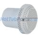 2 Inch Waterway 100gpm Suction Drain, White