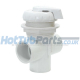 1 inch Waterway Diverter Valve - White