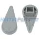 1 inch Waterway Diverter Handle - Grey