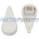 1 inch Waterway Diverter Handle - White